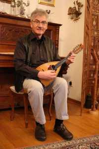Michael Kubik mit Mandoline